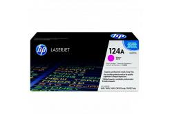 HP 124A Q6003A purpuriu (magenta) toner original