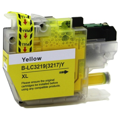 Brother LC-3217XL / LC-3219XL galben (yellow) cartus compatibil