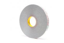 3M VHB 4936-P, 12 mm x 3 m, gri dublă faţă-verso Puternic adezivăbandă acrilică, 0,64 mm