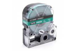 Epson LC-SD9GW, 9mm x 8m, text alb / fundal verde, banda compatibila