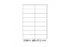 Etichete autoadezive 105 x 37 mm, 16 de etichete, A4, 100 coli