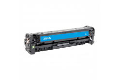 HP 304A CC531A azuriu (cyan) toner compatibil