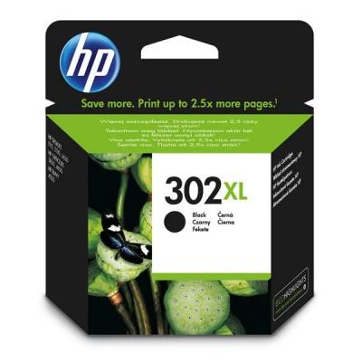 HP 302XL F6U68AE negru (black) cartus original
