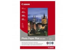 Canon SG-201 Photo Paper Plus Semi-Glossy, hartie foto, semi lucios, satin, alb, A3, 260 g/m2, 20 buc