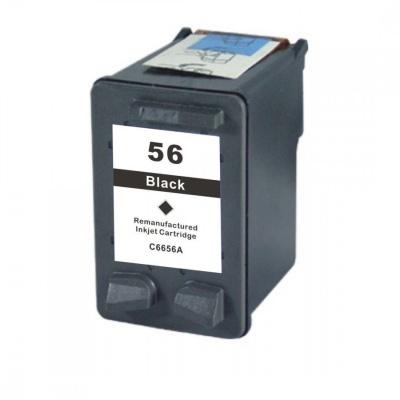 HP 56 C6656A negru (black) cartus compatibil