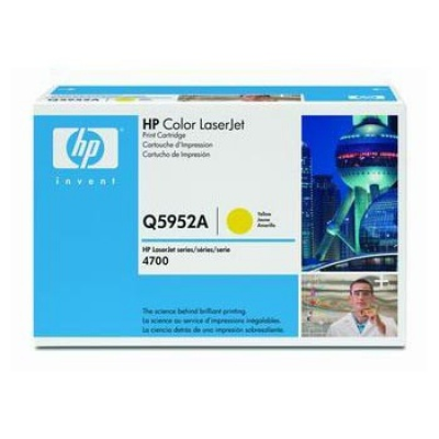 HP 643A Q5952A galben (yellow) toner original