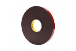 3M VHB 4611-F, 15 mm x 3 m, gri dublă faţă-verso bandă adezivă acrilică, 1,1 mm