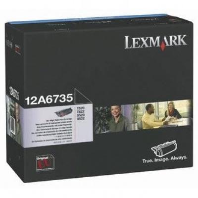 Lexmark 12A6735 negru (black) toner original