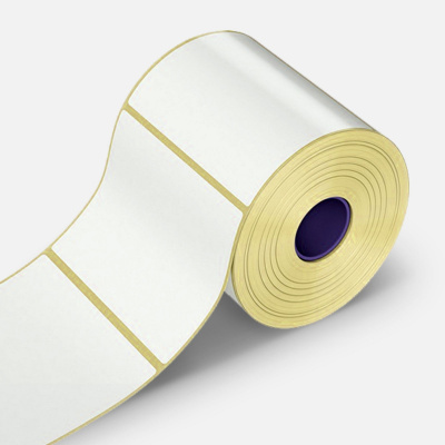 Etichete autoadezive PP PP (polypropylen), 90x45mm, 1000 buc., TTR, alb, rola