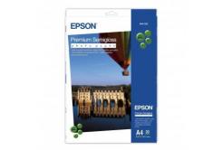 Epson S041332 Premium Semigloss Photo Paper, hartie foto, félig lucios, alb, A4, 251 g/m2, 20 buc