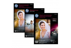 """HP CR676A Premium Plus Glossy Photo Paper, hartie foto, lucios, alb, 13x18cm, 5x7"""", 300 g/m2, 20 buc"""