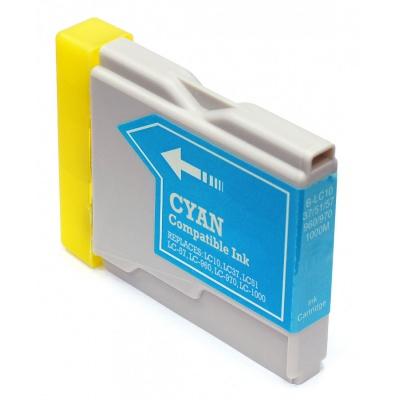 Brother LC-970 / LC-1000C azuriu (cyan) cartus compatibil