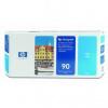 HP 90 C5055A azuriu (cyan) cap de imprimare original