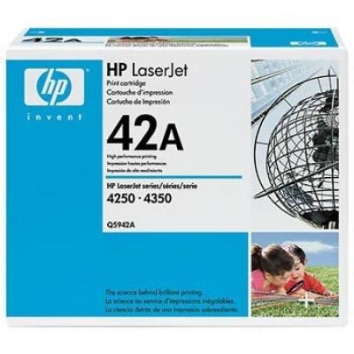 HP 42A Q5942A negru (black) toner original