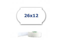 Cenové etikety do kleští, 26mm x 12mm, 900ks, bílé