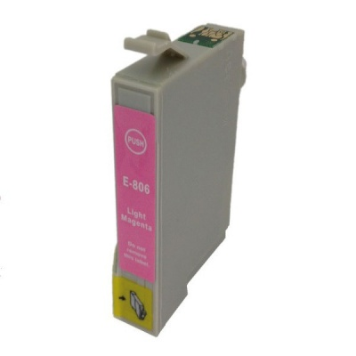Epson T0806 purpuriu deschis (light magenta) cartus compatibil