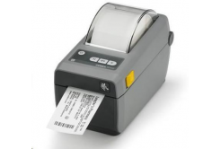 Zebra ZD410 ZD41022-D0E000EZ imprimante de etichetat, 8 dots/mm (203 dpi), MS, RTC, EPLII, ZPLII, USB, BT (BLE), dark grey