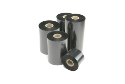 Honeywell thermal transfer ribbon, TMX 3710 / HR03 resin, 110mm, 10 rolls/box, black