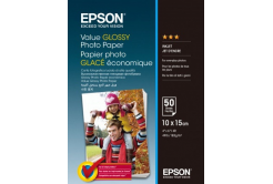 Epson S400038 Value Glossy Photo Paper, alb, lucios, hartie foto, 10x15cm, 183 g/m2, 50 buc
