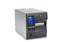 """Zebra ZT411,průmyslová 4"""" tiskárna,(300 dpi),peeler,rewinder,disp. (colour),RTC,EPL,ZPL,ZPLII,USB,RS232,BT,Ethernet"""