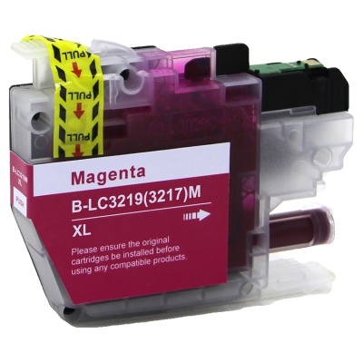 Brother LC-3217XL / LC-3219XL purpuriu (magenta) cartus compatibil