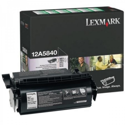 Lexmark 12A5840 negru (black) toner original