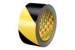 3M 766 PVC bandă galben-negru, 50 mm x 33 m