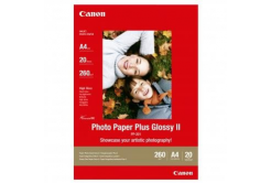 Canon PP-201 Photo Paper Plus Glossy, hartie foto, lucios, alb, A4, 260,275 g/m2, 20 buc