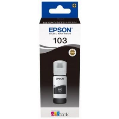 Epson cartus original C13T00S14A, 103, black, 65ml, Epson EcoTank L3151, L3150, L3111, L3110