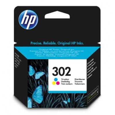 HP 302 F6U65AE color (color) cartus original