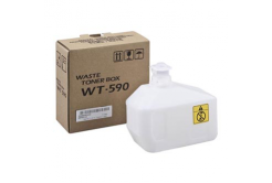 Kyocera toner rezidual compatibil WT-590, 15000 pagini, 302KV93110, Kyocera FS-C2026MFP/C2126MFP/C2626MFP, P6021cdn/P6026cdn