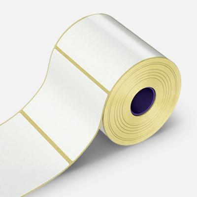 Etichete autoadezive 60x100 mm, 500 buc, hartie, TTR, rola