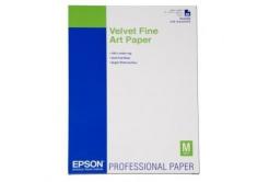 Epson S042096 Velvet Fine Art Paper, bársonyos, alb, A2, 260 g/m2, 25 buc