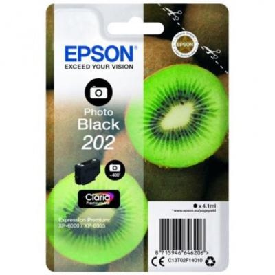Epson 202 C13T02F14010 foto negru (photo black) cartus original