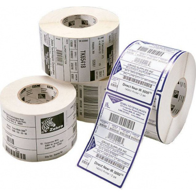 Zebra 3004840-T Z-Select 2000D, label roll, thermal paper, removeable, 76,2x44,45mm
