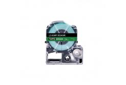 Epson LC-SD24GW, 24mm x 8m, text alb / fundal verde, banda compatibila