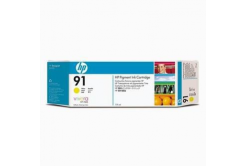 HP 91 C9469A galben (yellow) cartus original