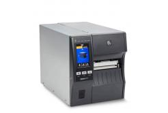 """Zebra ZT411,průmyslová 4"""" tiskárna(300 dpi), peeler, rewinder, disp. (colour), RTC, EPL, ZPL, ZPLII, USB, RS232, BT, LAN"""