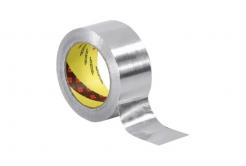 3M 431 Bandă adeziva din aluminiu, 50 mm x 55 m, 0,08 mm