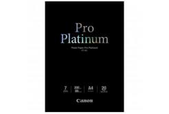 Canon PT-101 Photo Paper Pro Platinum, hartie foto, lucios, alb, A4, 300 g/m2, 20 buc