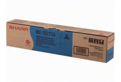 Sharp MX-70GTCA azuriu (cyan) toner original
