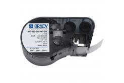 Brady MC-500-595-WT-BK / 143371, benzi autoadezive 12.70 mm x 7.62 m