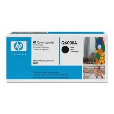 HP 124A Q6000A negru toner original