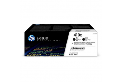 HP 410X CF410XD 2 buc negru (black) toner original