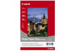 Canon SG-201 Photo Paper Plus Semi-Glossy, hartie foto, semi lucios, satin, alb, A3+, 260 g/m2, 20 buc