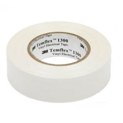 3M Temflex 1300 benzi electroizolante, 19 mm x 20 m, alb