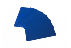 Zebra Premier card, modrá
