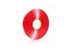 3M VHB 4910-F dublă faţă-verso bandă adezivă acrilică, transparent, 1 mm, 19 mm x 3 m
