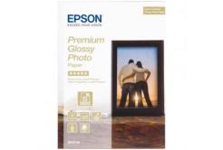 Epson S042154 Premium Glossy Photo Paper, hartie foto, lucios, alb, 13x18cm, 255 g/m2, 30 buc