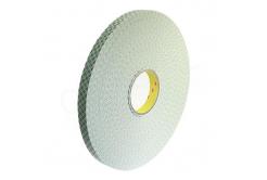 3M 4032 Spuma Bandă adeziva dubla, 0,8 mm, 12 mm x 3 m
